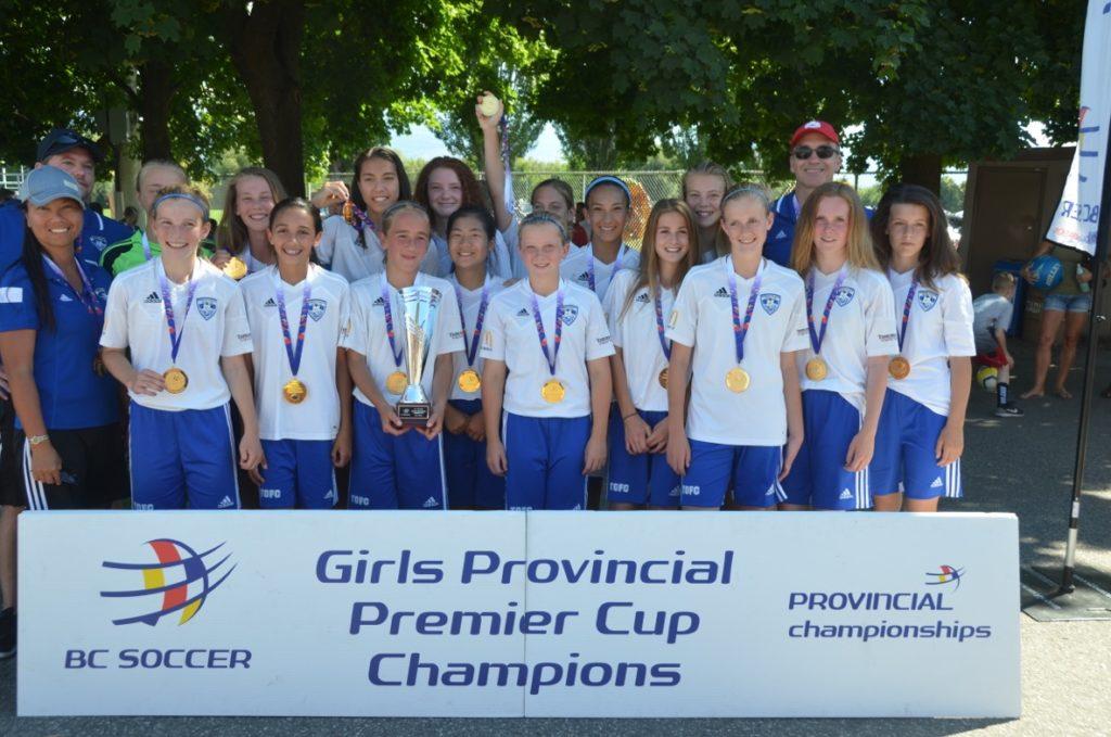 TOFC U13 - BC Premier Cup Champions 2016